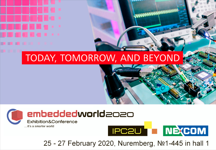 IPC2U na Embedded World 2020